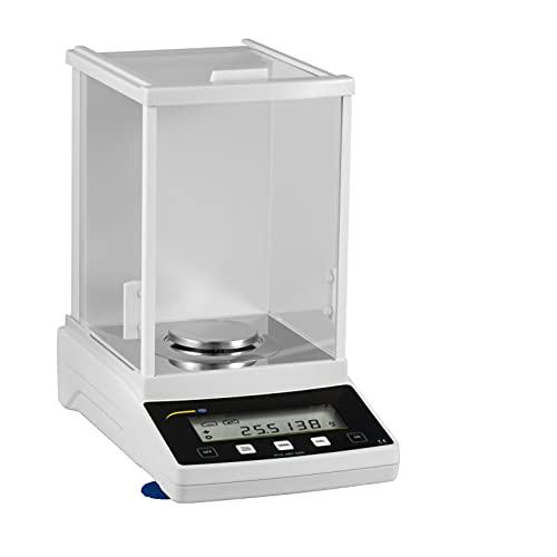 PCE Instruments Balanza analítica digital, con función de contaje de piezas (Rango 220 g, Resolución 0,1 mg, Precisión ± 0,5 mg) PCE-ABT 220L