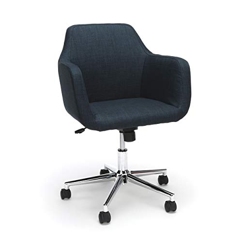 OFM ESS Collection Upholstered Home Office Desk Chair, in Blue (ESS-2085-BLU)