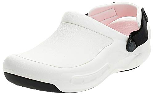 Crocs Bistro Pro Literideclog, Zuecos Unisex Adulto, Blanco (White 100), 38/39 EU