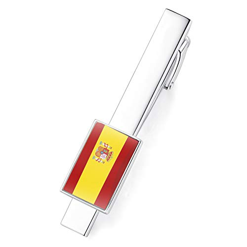 HONEY BEAR Bandera Nacional Flag Clip Pasador de Corbata - Talla Normal...