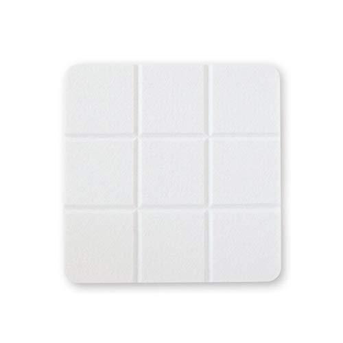 Anti-geluid Muur akoestische panelen, wit en zwart Indoor geluidsabsorberende Cotton Home Use-plein Vilt Raad Photo Muur Afmetingen: 30 * 30cm huishoudproducten (Color : White, Size : 30 * 30CM)