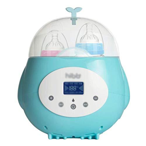 Baby Bottle Warmer, 2-in-1 Automatische Intelligente Milk Warmer water, 24H met een thermostaat op de zuigfles sterilisator met LCD-scherm, Remote Smart Control, Can Benoeming en Timing