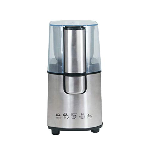 UTDKLPBXAQ Coffee Grinders Electric,Household Electric Grinder,Electric Coffee Maker,Washable Detachable Coffee Spice Grains Herbals Cereal Food Grind Machine,For Home Office Shop