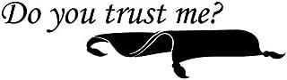 Creative Concepts Ideas Do You Trust Me Flying Carpet Aladdin CCI Decal Vinyl Sticker Cars Trucks Vans Walls Laptop Black ...