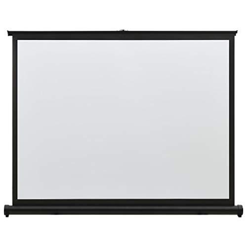 vidaXL Schermo di Proiezione da Tavolo Telo di Proiezione Telone per Film e Diapositive Accessori per Proiettori Display Visualizzatore 50' 4:3