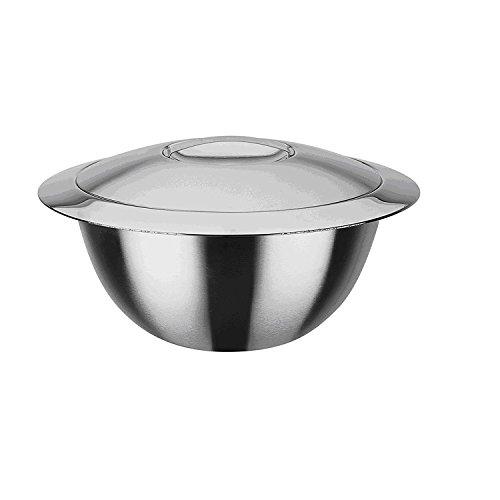GSW Stahlwaren GmbH mit Deckel 22cm, Silber