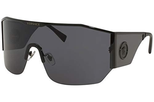 Versace MEDUSA HALO VE 2220 BLACK/GREY 41/14/125 Herren Sonnenbrillen