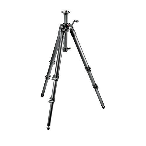 Manfrotto 057 Carbon Fiber 3-Section Geared Tripod (MT057C3-G)