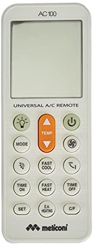 Meliconi AC 100 Telecomando Universale per Condizionatori/Climatizzatori Compatibile con la Maggior Parte...