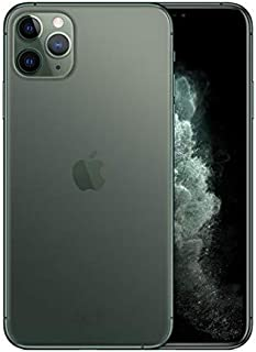 Apple iPhone 11 Pro Max with FaceTime - 256GB, 4GB RAM, 4G LTE, Midnight Green, Dual SIM - 2725018084672