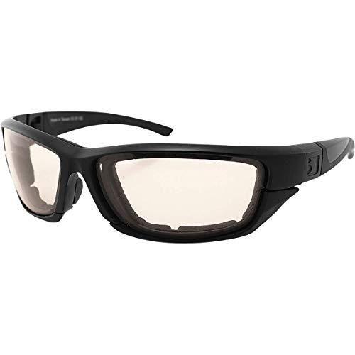 Bobster 4003371 Decoder 2 photochromische Brille, schwarzer Rahmen, mehrfarbig, Einheitsgröße