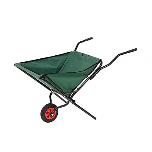 Oypla Lightweight Folding Garden Wheelbarrow Foldable Wheel Barrow