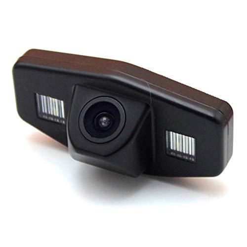 HD 720p Nachtsicht Rueckfahrkamera Wasserdicht Farbkamera 170° Rückfahrkamera Kennzeichenleuchte Einparkhilfe Kamera für Honda Jazz Accord Pilot Odyssey Civic