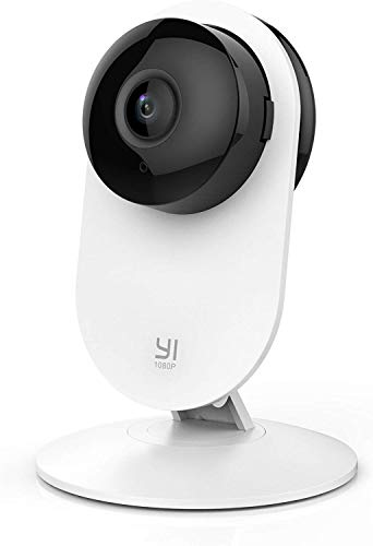 YI 1080p Home Camera, Indoor IP Security Surveillance System with Night Vision for Home/Office/Baby/Nanny/Pet Monitor with iOS, Android App - Cloud Service Available