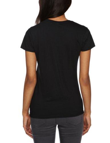 Guns N Roses Bullet Logo Black Womens T-shirt Small