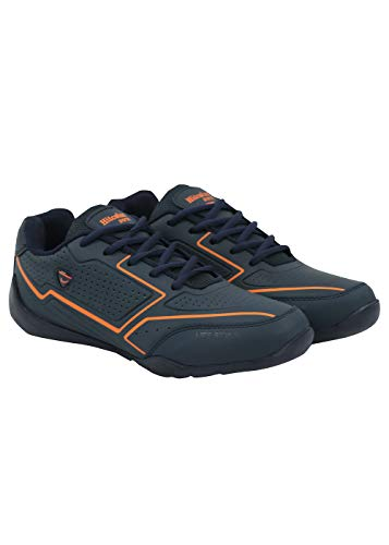 HITCOLUS Training,Walking,Gym,Sports, Running Shoes for Men Blue/Orange