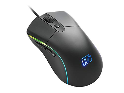 i-rocks M40E Esports Grade Ultralight 62g Performance Gaming Mouse with D2FC-F-K(60MN) Micro Switches, PMW 3389 Optical Sensor (Up to 16,000 DPI) & RGB Lighting
