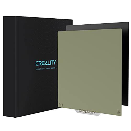 Creality PEI Platte PEI Sheet Ender 3 Offizielles 3D Drucker Plattformen Original Flexibler Magnetaufkleber Abnehmbares beheiztes Bett 235 x 235 mm Aufbauplatte für Ender 3 V2 / Ender 3 Pro/Ender 5