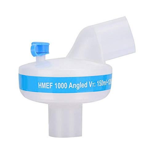 Qinlorgo Filtro de la máquina de respiración, Filtro Compuesto Nasal Artificial Intercambiador de Calor húmedo Máquina de respiración Filtro de la máquina anestésica 🔥