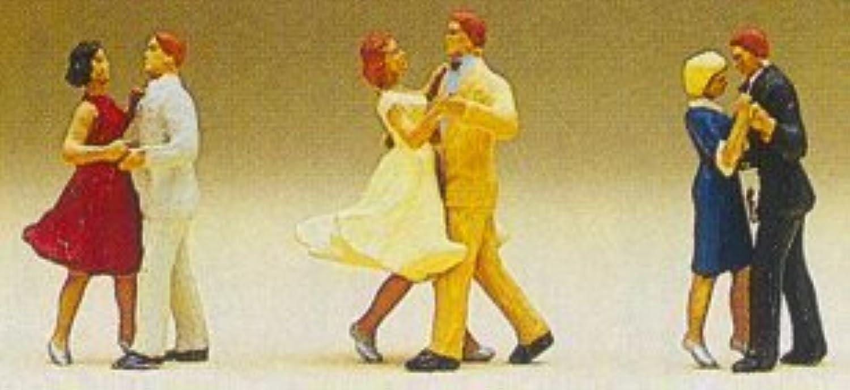 Con 100% de calidad y servicio de% 100. Preiser 10120 Dancing Couples (3 Couples) Couples) Couples) by Preiser  compras online de deportes