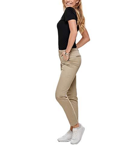 Only Onlmonaco Reg Chino Pnt Noos Pantalones, Beige (Nomad Nomad), 34 /L34 (Talla Del Fabricante: 34) Para Mujer