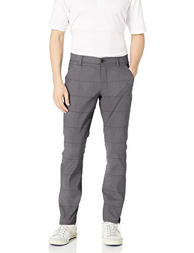 Under Armour Match Play Pantalon Conique pour Homme Motif Pied-de-Poule, Homme, 1294492, Rhino Gray (076)/Rhino Gray, 30W/34L