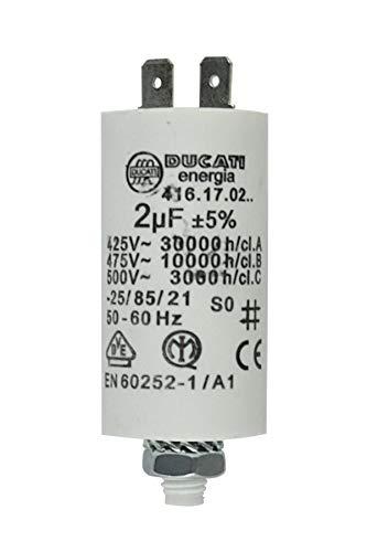 MKP Kondensator Motorkondensator Anlaufkondensator Betriebskondensator 2,0uF >400V