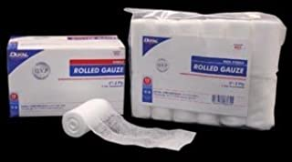 Dukal 404 Rolled Gauze, Non-Sterile, 4