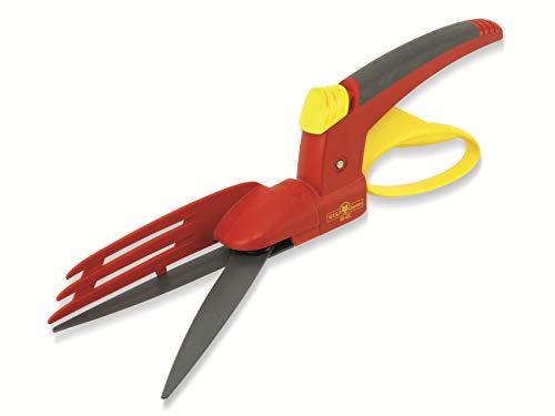 Wolf 7023000RI-GC-Handgrasschere Professional, rot/silber
