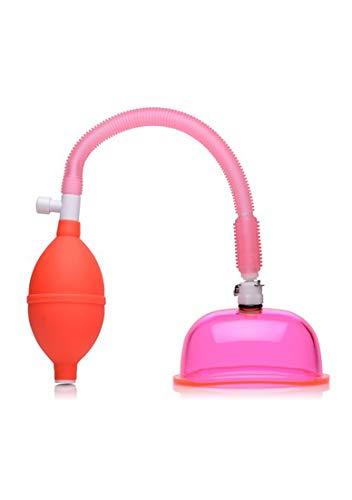 XR Brands - Size Matters XR Brands - Size Matters - Vaginalpumpe mit 3.8 Zoll kleiner Schal - Rosa