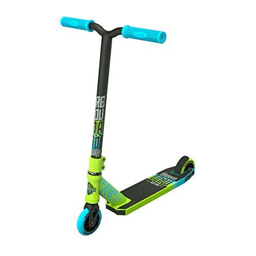 MADD Unisex Jugend Kick Rascal Scooter, grün/blau, 76,2 cm