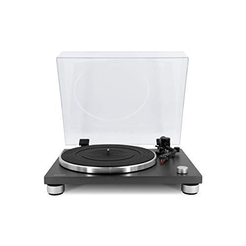 sonoro Platinum Plattenspieler mit Phono-Vorverstärker, USB & Bluetooth (Riemenantrieb, Ortofon 2M Red, A/D Wandler, Ripping-Funktion) Matt Graphit