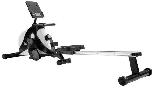 Best Bargain genericc Water Rower Rowing Machine,Wooden Indoor Row Machine with LCD Monitor for Home...
