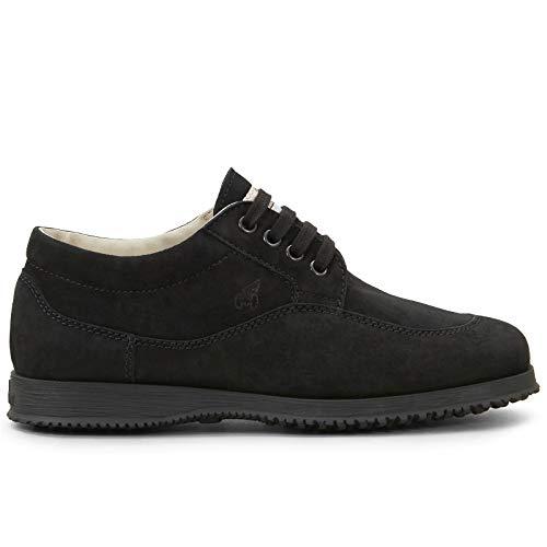 Hogan HXW00E00010 CR0B999 - Zapatillas deportivas para mujer, color negro Negro Size: 37 EU
