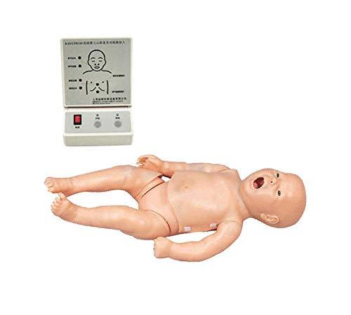 MKULOUS Säuglinge Herz-Lungen-Wiederbelebungs-Simulator Modell für Unterrichtsforschung