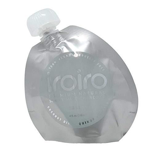 Iroiro Premium Natural Semi-permanenten Haar color130Iro-Silber (8oz)