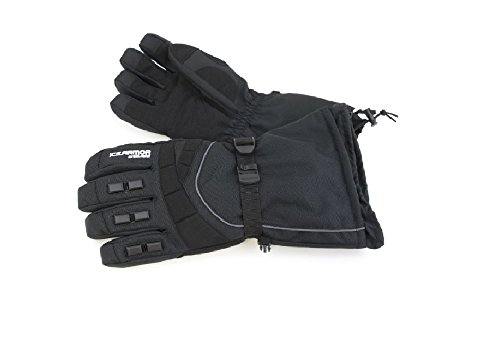 ICEAMOR by Clam Extreme Gloves, X-Large, Black