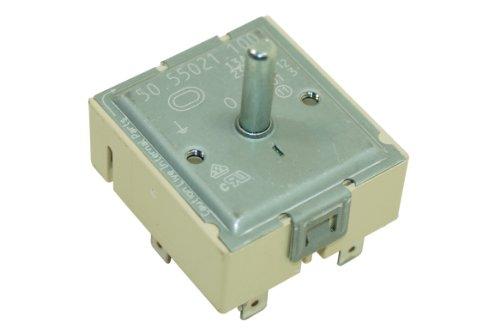 Hotpoint C00056412 Backofen und Herdzubehör/Knöpfe und Schalter/Kochfeld/Original-Ersatz dual Energieregler für Ihren Herd/Dieser Teil/Zubehör eignet sich für verschiedene Marken