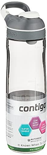Contigo Auto Seal Cortland Botella de agua, 24 oz, humo