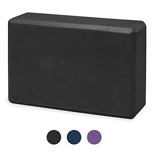 Gaiam Essentials Yoga Brick | Sold as Single Block | EVA Foam Block Accessories for Yoga,...