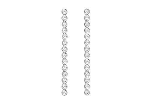 Tuscany Silver Pendientes de mujer con plata de ley (925/1000) y gema
