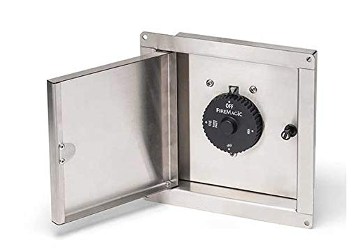 Fire Magic 1 Hour outdoor BBQ island safety timer box (Natural Gas) Timer included Connectors Grill Hoses