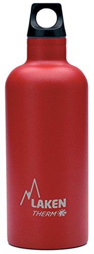 Bouteille isotherme Futura de Laken en acier inoxydable avec isolation sous vide et goulot étroit 500 ml Rouge