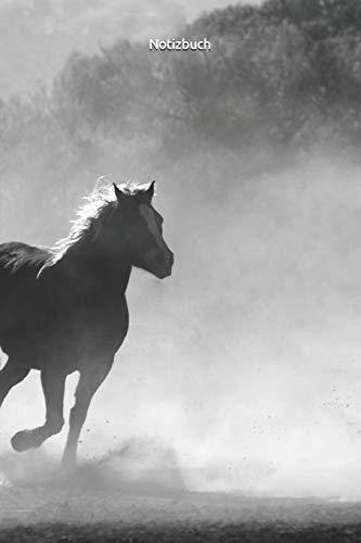 Notizbuch: Pferdemotiv ist ein Notizbuch mit einem Pferde Design, ideal als Geschenkidee, Notizbuch Pferdemotiv   15 x 23cm (ca. A5)   130 Seiten