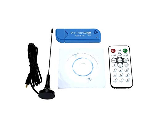 Buy Cheap DVB-T + DAB + FM RTL2832U + R820T2 Support SDR Tuner Receiver Mini Portable Digital USB 2....