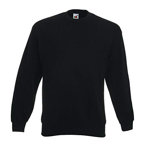 Fruit of the Loom - Sweatshirt 'Set-In' 3XL,Black