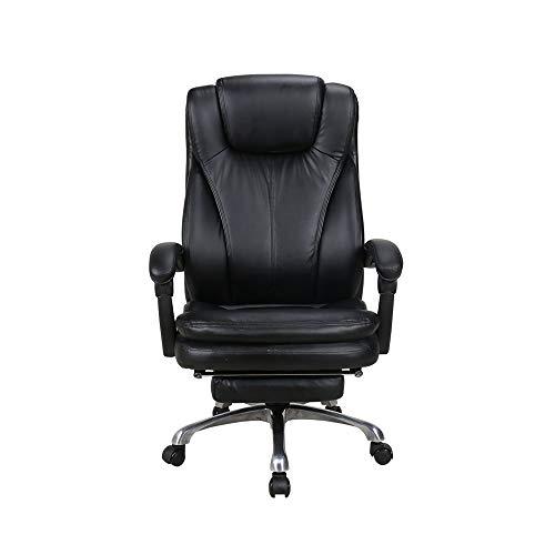 HOLPPO-Desk Stuhl Home Office Chair 150 ° Reclinable Design Hohe Zurück Boss Stuhl Lifting Drehstuhl Bearing Gewicht 200kg Schreibtisch Stühle