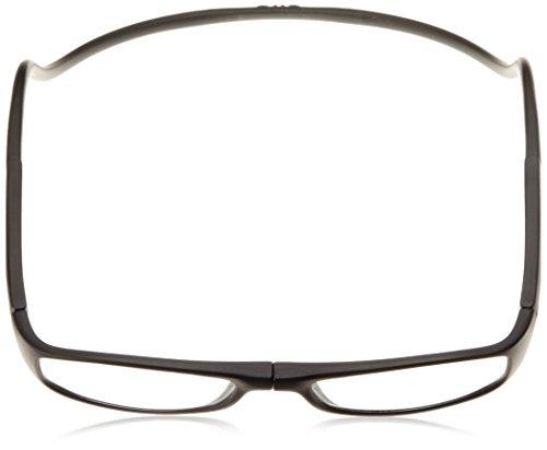 [クリックリーダー]老眼鏡CliCEuroメンズマッドブラック日本+1.00-(日本サイズM相当)