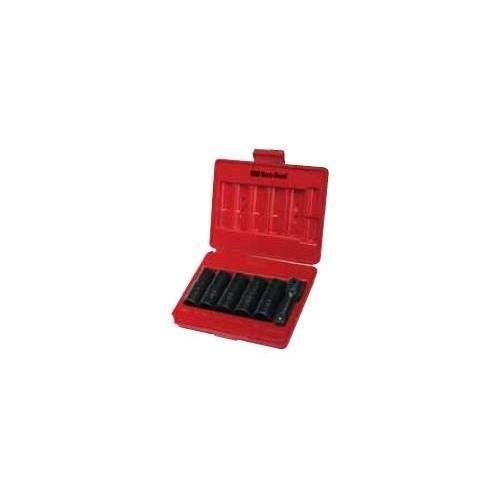 Ken-Tool (30111 6-Piece Double-Duty Flip Socket Set