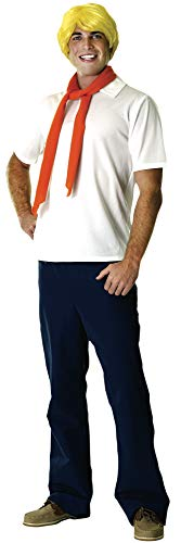 Rubie's- Déguisement - Licence Scooby-Doo Fred, Mens, CS926499, Taille Unique